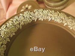 1700s Wilson Jasperware Plaque Antique Anglais Art Vtg Porcelaine Staffordshire
