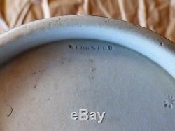 1891 Antique Wedgwood Deep Cobalt Bleu Jasperware Poignée En Porcelaine Ex