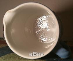 1901 Wedgwood Lait Pichet Jasperware Antique Anglais Pottery Vtg Bleu