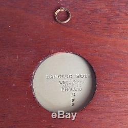 1974 Encadrée Wedgwood Dancing Heures Plaque Verte Jasperware
