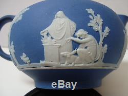 Ancien Bleu Antique Wedgwood Jasperware Jasper Dip Creamer Vers 1781