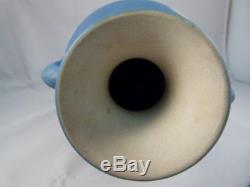 Antique Wedgwood Jasperware Portland Vase Bleu Clair 7,5 Pouces De Hauteur