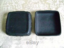 Boîte À Murs Vintage Wedgwood Black Basalt Jasperware