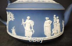 Ensemble De Thé Jasper Blue Wedgwood Blue Pré-1850