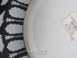 Jasperware Wedgwood Noir Vintage Diver Heures De Danse 10 1/4 Bol
