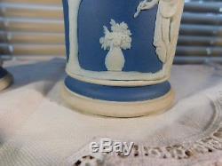 Vase Portland Jasper Des Années 1800 Colonne Spill Vases Antique Porcelaine