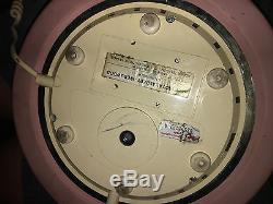 Wedgwood Jasperware Astral Téléphone Rare Rotary Dial Rose 1986