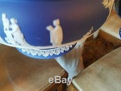 Wedgwood Jasperware Jasper Vaisselle Blue Dip Sac Sacrifier Pre 1860