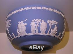 Wedgwood Pâle Bleu Jasper Solide Ware Sacrifice Bol 1983