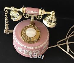 Wedgwood Pink Jasperware Téléphone Par Astral