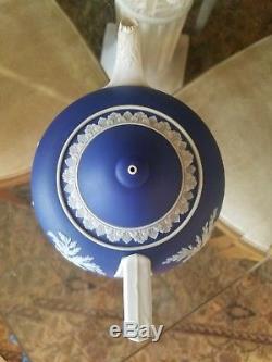 Wedgwood Wedgewood Jasperware Jasper Vaisselle Bleu Trempette Théière De 1861